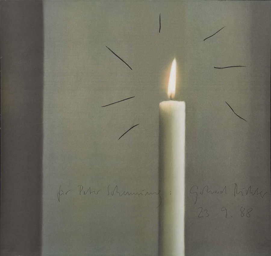 Kerze datiert