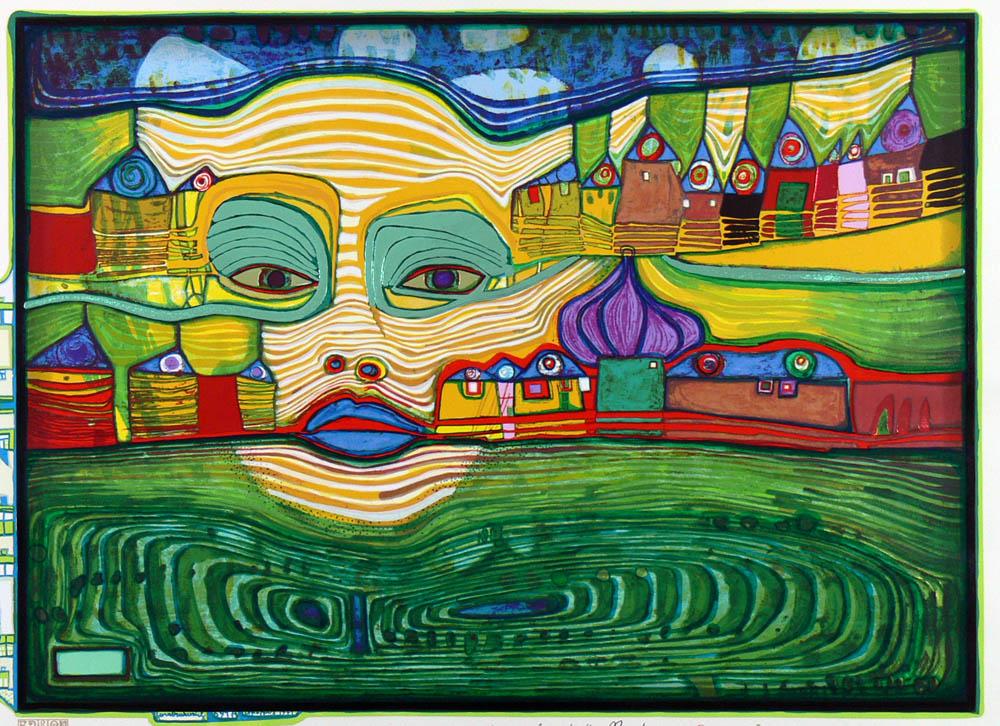 Friedensreich Hundertwasser (*1928 - †2000)