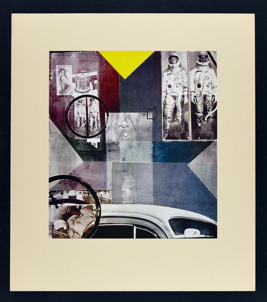 K.P. BREHMER: handsignierter Klischee-Tondruck, 1965 - 73 x 64,5cm ...